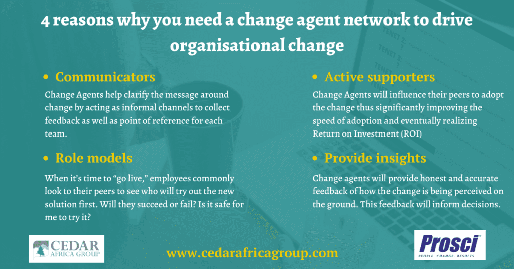 This is why you need a change agent network